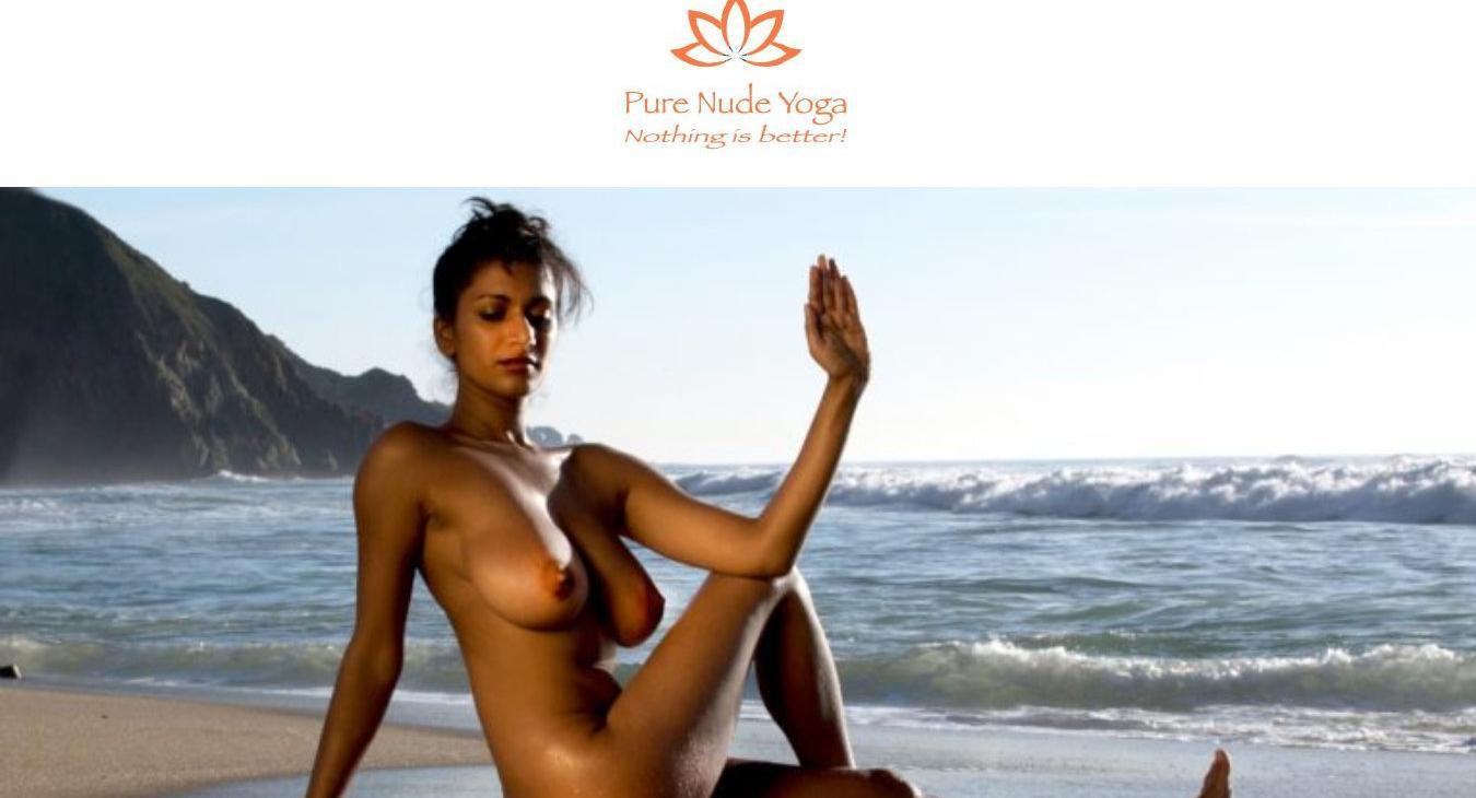 Pure nude yoga
